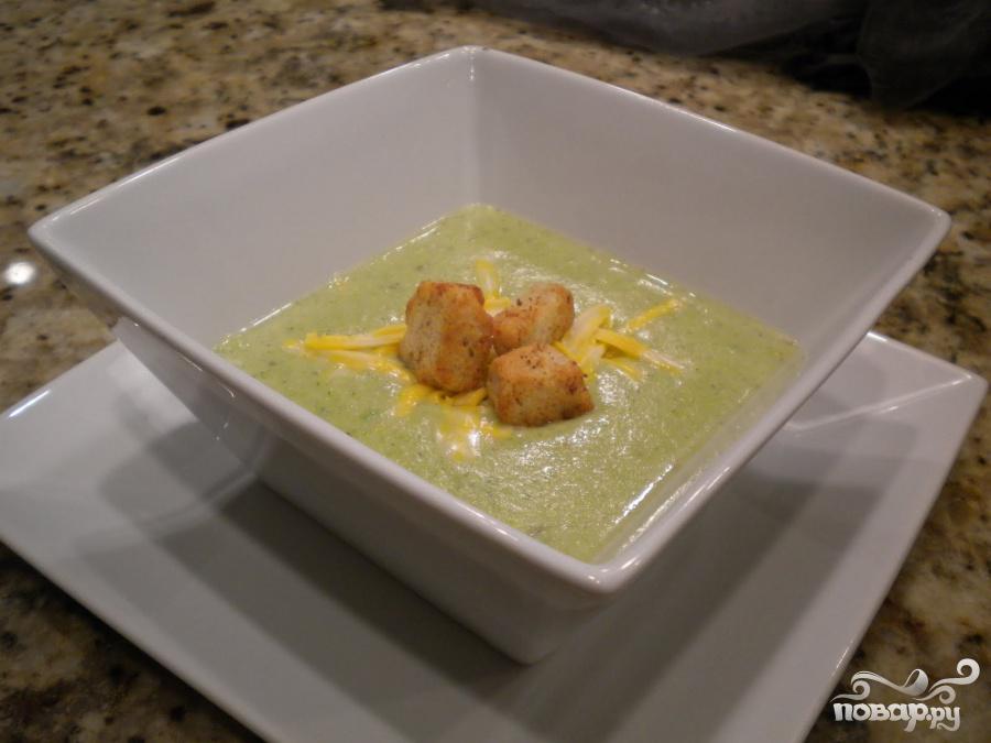 Суп с брокколи и сыром по-быстрому - фото шаг 5