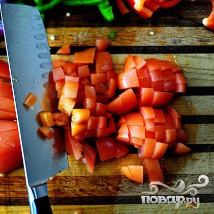 Макароны с курицей и овощами - фото шаг 3