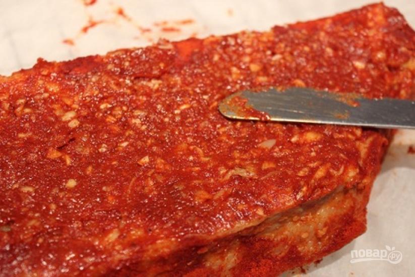 Корейка свиная в луковой шелухе рецепт 74