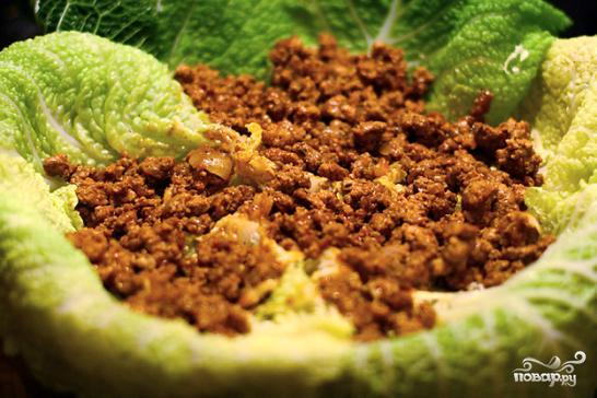 Запеканка из савойской капусты - фото шаг 3