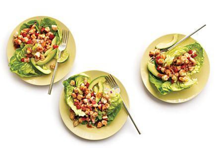 Рецепт Мексиканский салат с креветками