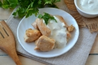 Филе курицы под соусом