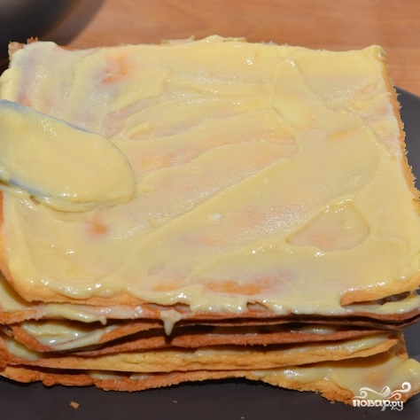 Торт Наполеон по госту - фото шаг 10