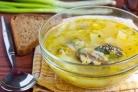 Суп из сардины