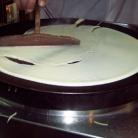 Рецепт Блинчики с шоколадным ореховым кремом