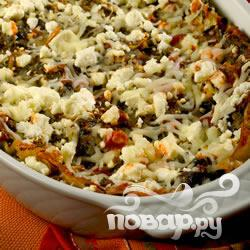Рецепт Лазанья с артишоком и шпинатом