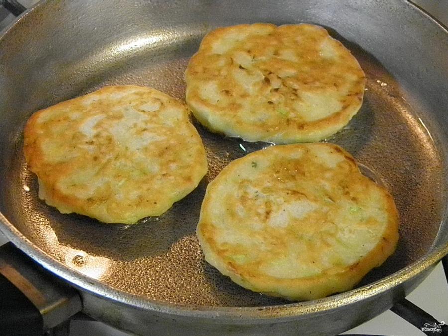 Как приготовить оладьи из кабачков на кефире пошаговый рецепт с фото