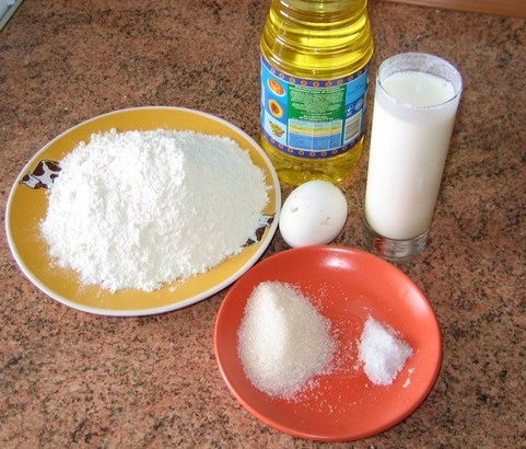 бездрожжевое тесто для выпечки в духовке рецепт