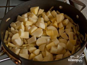 Тушеная фасоль с мясом - фото шаг 3