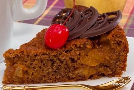 Пирог с карамелизированными грушами - фото шаг 6