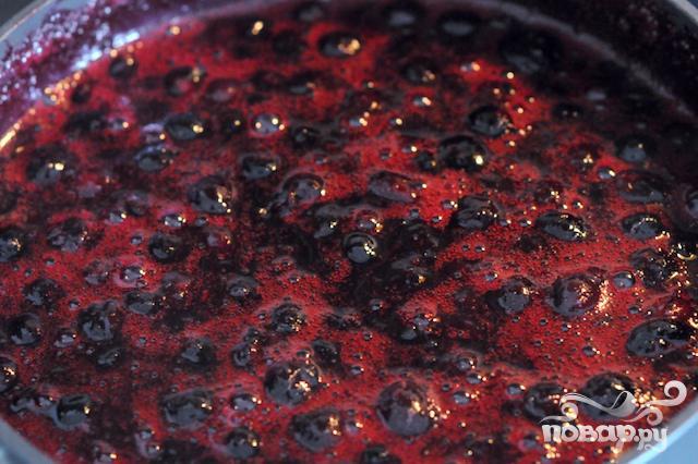 Чернично-лаймовый соус - фото шаг 2