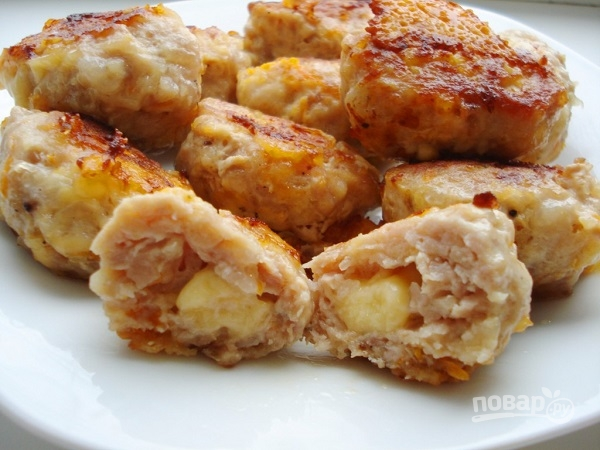 котлеты из куриной грудки и капусты рецепт