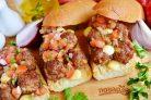 Сэндвич с мясными шариками