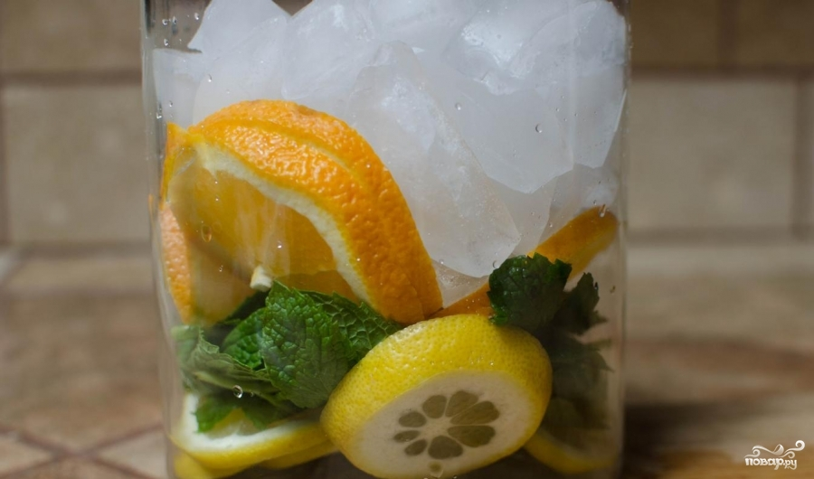 Лимонная вода для похудения - фото шаг 3