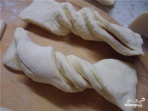 Слойки с сыром - фото шаг 3