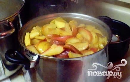 Яблочный конфитюр - фото шаг 3