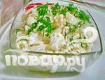 Рецепт Салат из белокочанной капусты с апельсинами и лимоном