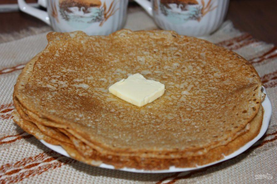 Легкий рецепт блинов на молоке тонкие