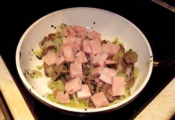 Теплый салат с говядиной - фото шаг 8