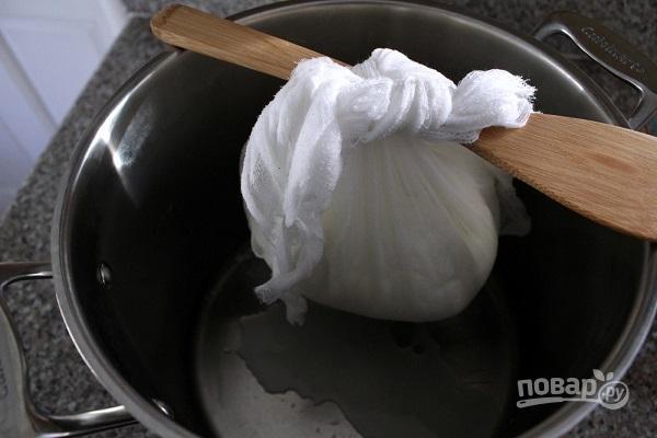 Сыр из коровьего молока своими руками - фото шаг 4