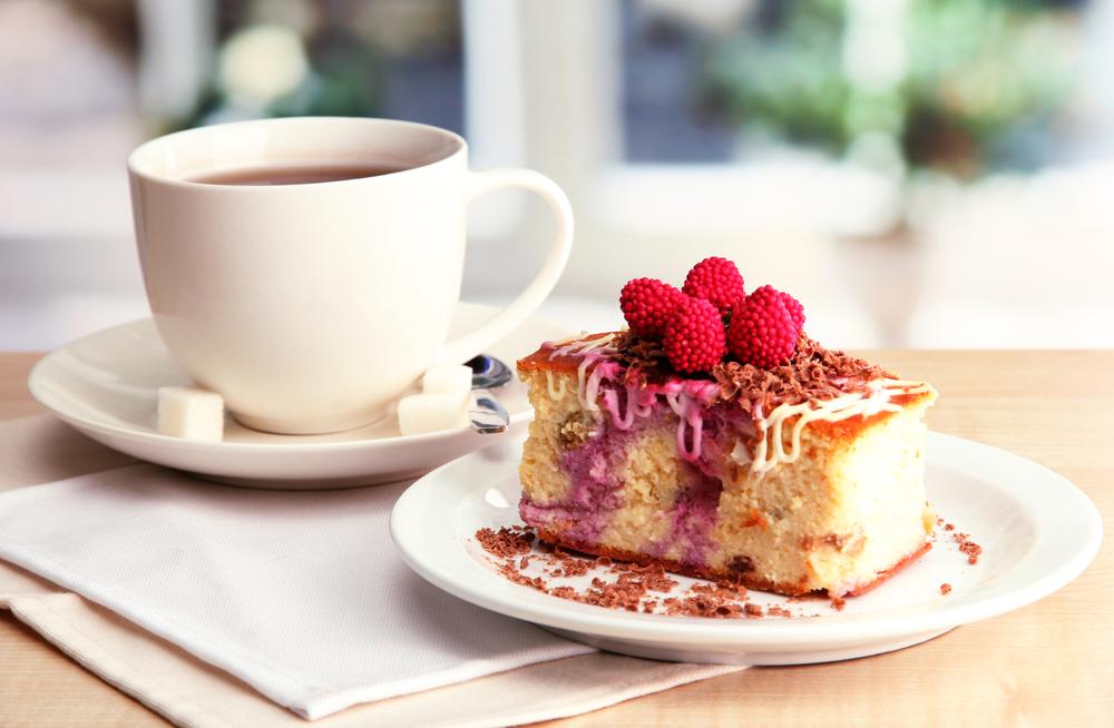 Чай с пирогом