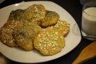Печенье из ржаной муки с творогом