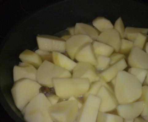 Баранина с баклажанами и помидорами - фото шаг 3