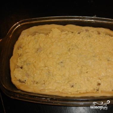 Тесто на пирог в холодильнике