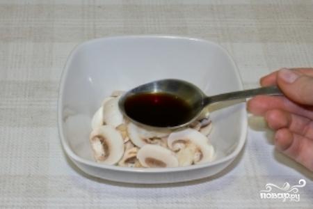 Салат из сырых шампиньонов - фото шаг 5