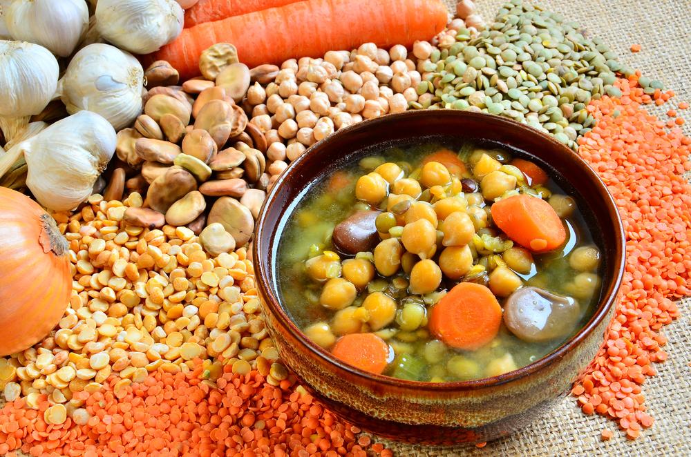 Питательные супы с бобовыми