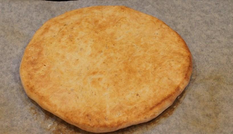 Тесто на кефире без дрожжей - фото шаг 4