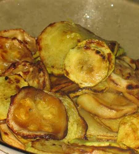 Рецепт Салат из кабачков и помидоров