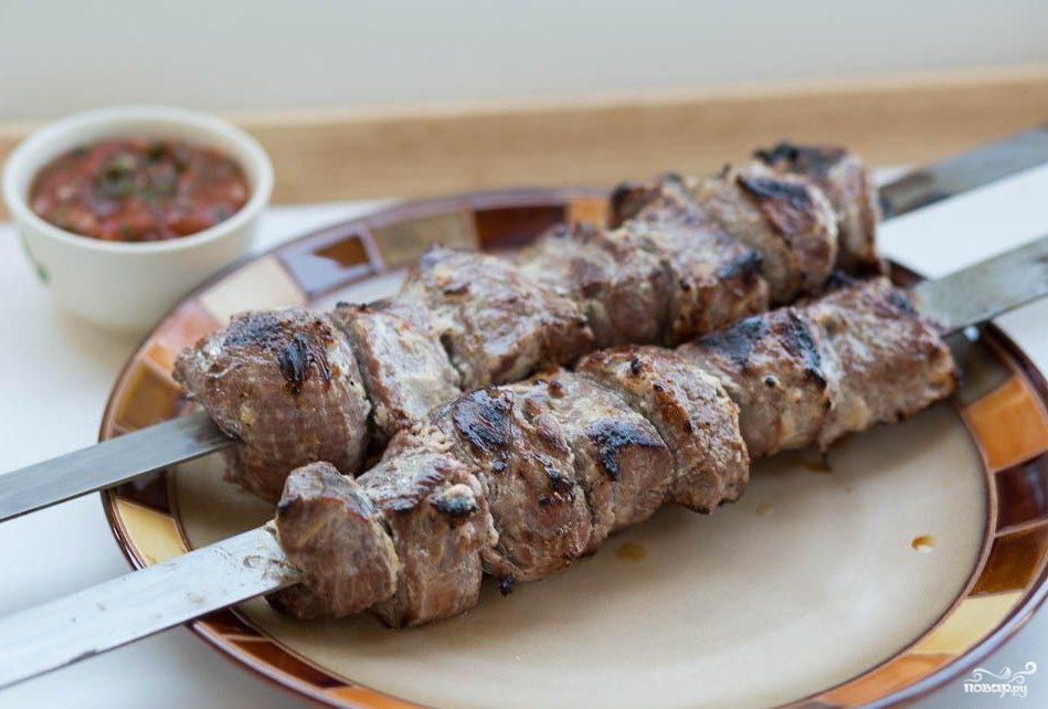 Рецепт Шашлык из баранины в кефире