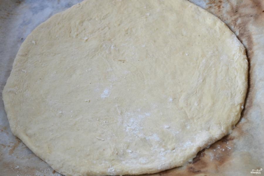 Пицца на кефире в духовке - фото шаг 7
