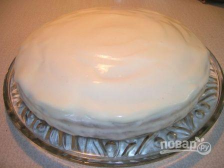 Медовый торт простой - фото шаг 14