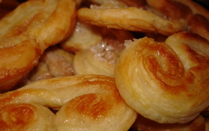 Печенье из слоеного бездрожжевого теста - фото шаг 5