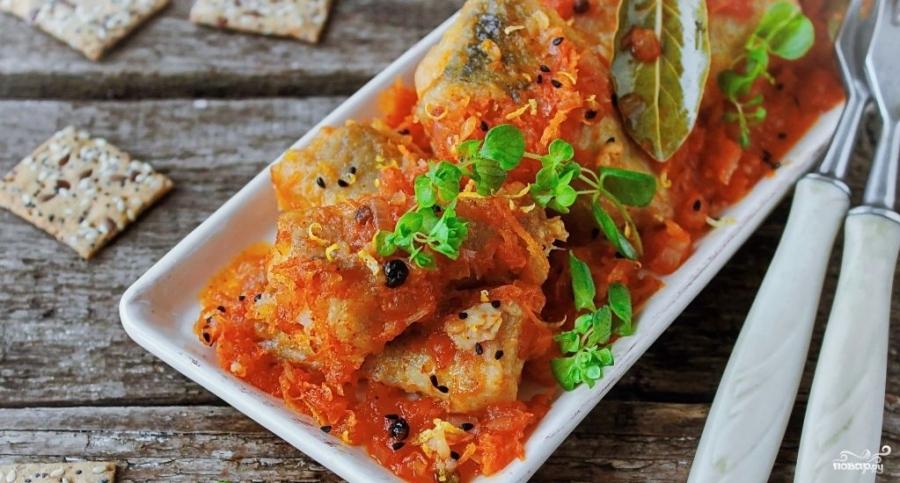 Минтай тушеный с овощами рецепты