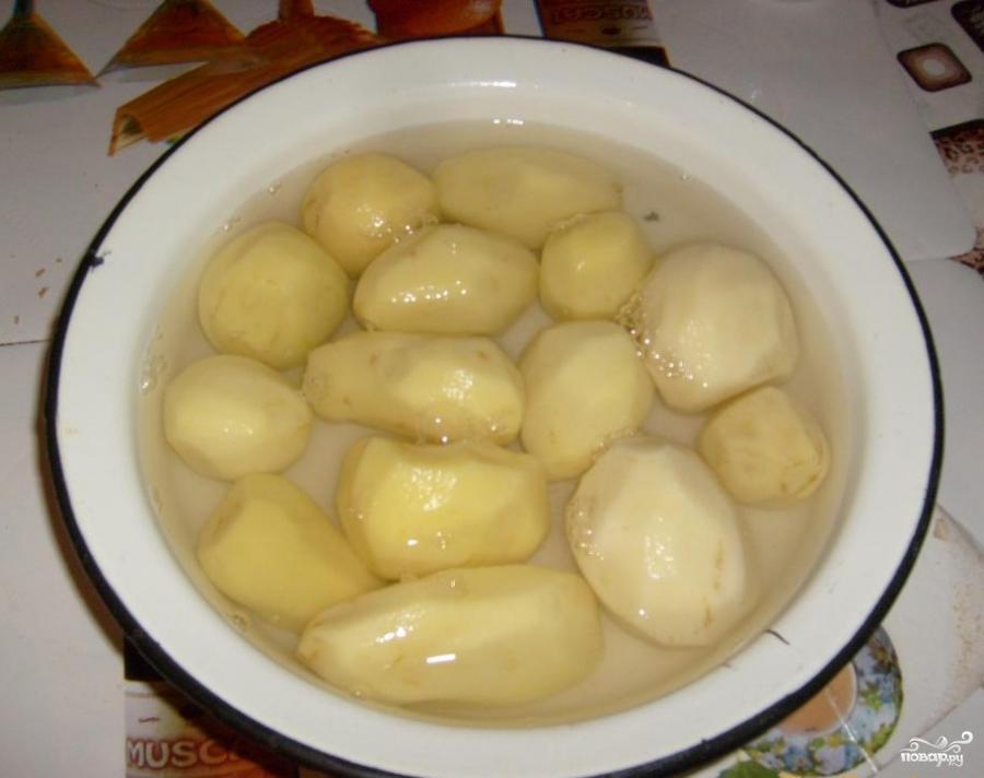 Рецепт Картофель с майонезом