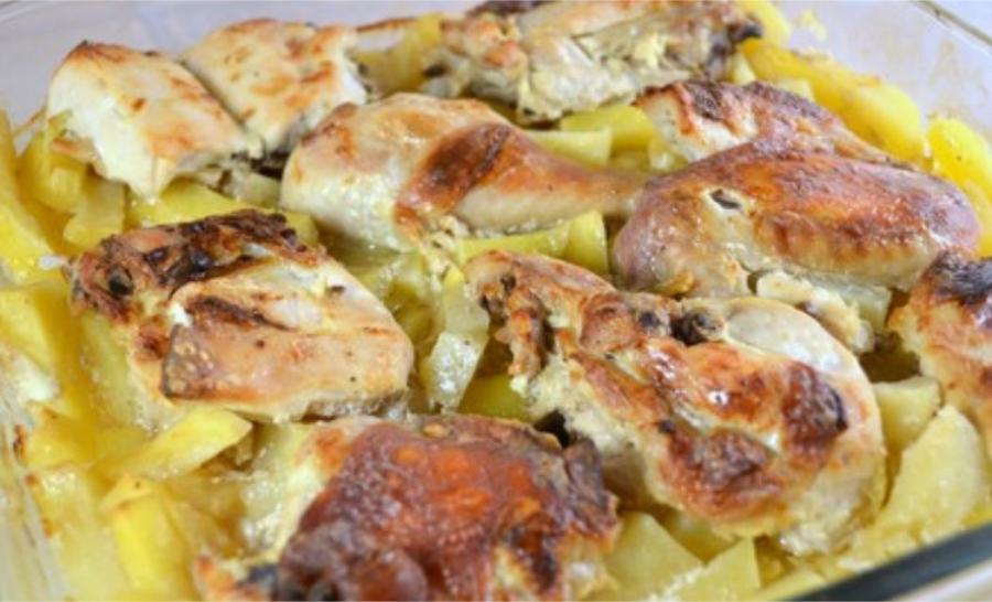 Курица с картошкой в сметане - фото шаг 7