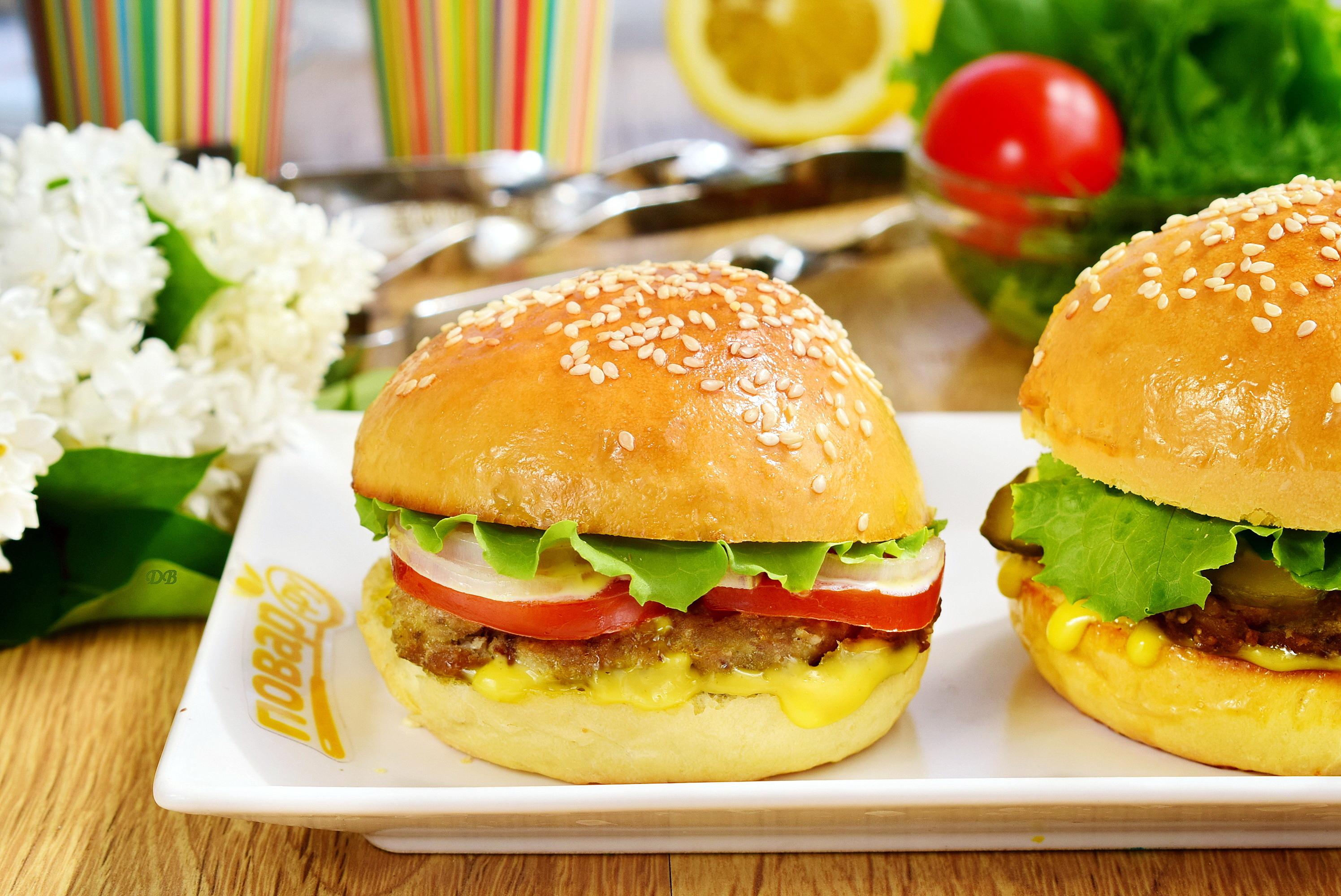 Рыбный бургер или фишбургер