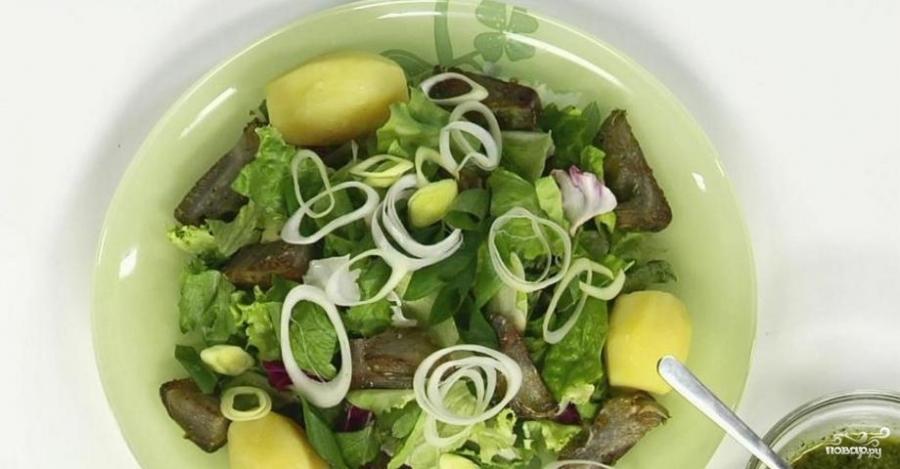 Салат с артишоками - фото шаг 5
