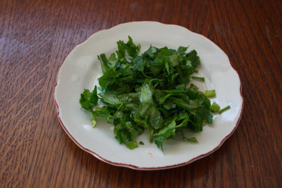 Салат с тертым сыром - фото шаг 3