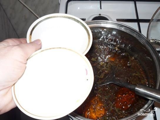 Зеленый чай с солью - фото шаг 2