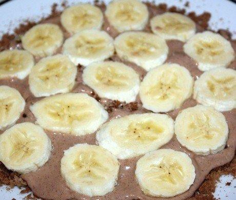 Шоколадно-банановый торт из пряников - фото шаг 4