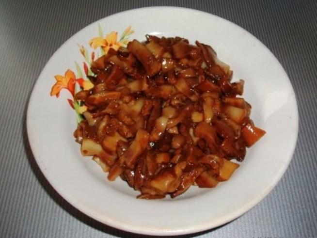 Суп с маринованными грибами   - фото шаг 3