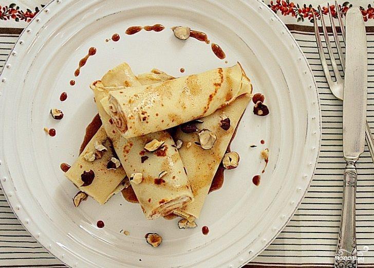Рецепт Блины с орехами