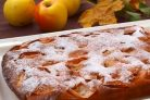 Фруктовый пирог на кефире