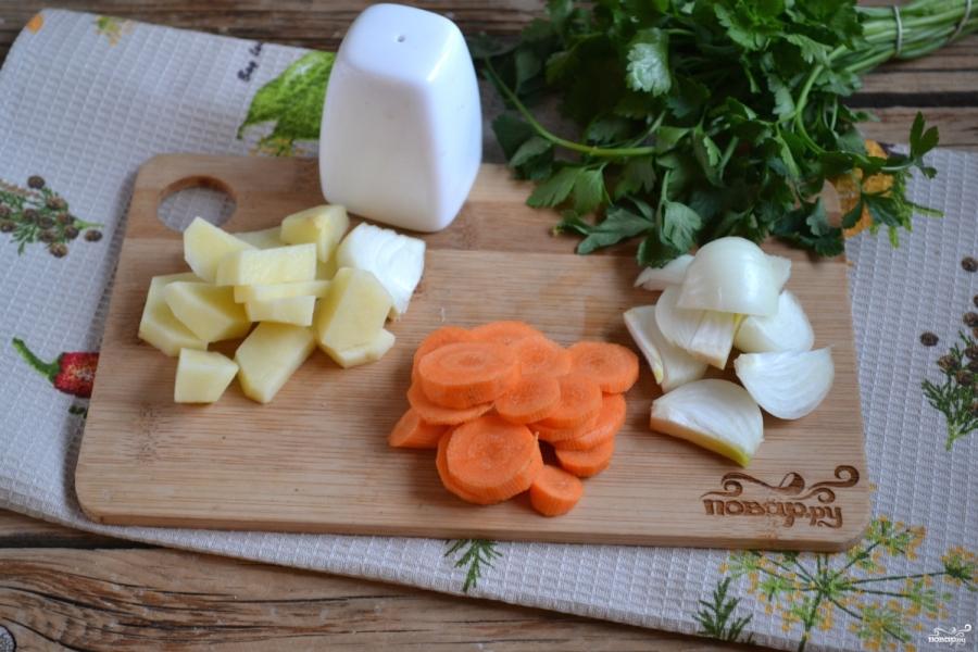 Суп-пюре из брокколи и цветной капусты - фото шаг 2