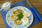 Кабачки жареные с яйцом