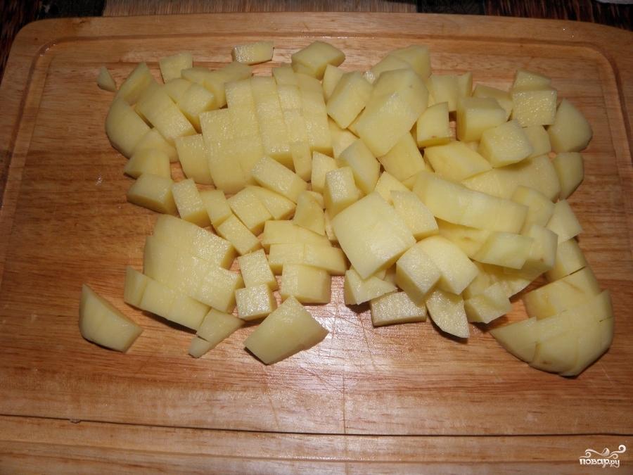 Фрикадельки с картошкой в горшочках - фото шаг 1